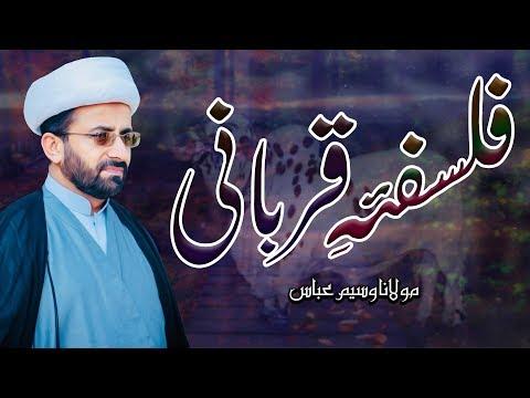 Falsafa-E-Qurbani !! | Maulana Waseem Abbas | 4K