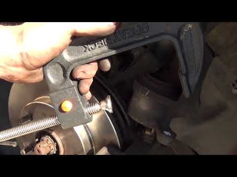 Toyota Camry Disc Brake - Replace Brake Pads