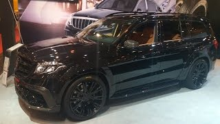 "BRABUS 850 BASE Mercedes-Benz GLS 63 AMG 850HP 23"" Wheels 