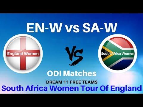 ENGLAND WOMEN VS SOUTH African WOMEN 2nd ODI DREAM11 TEAM   EN W VS SA W dream11 team