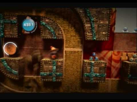 Little Big Planet (PS3) Gameplay Part 13 (The Canyons - Serpent Shrine)