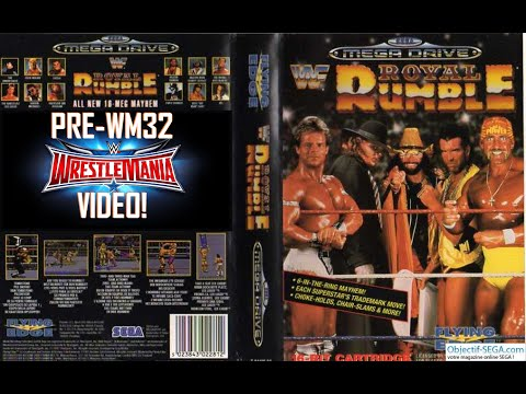 RD Plays WWF Royal Rumble (MD) - Pre WrestleMania 32 Video!