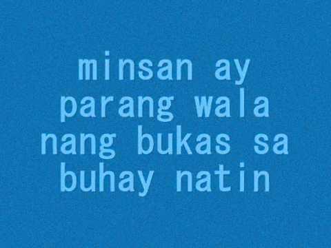 minsan-eraserheads with lyrics