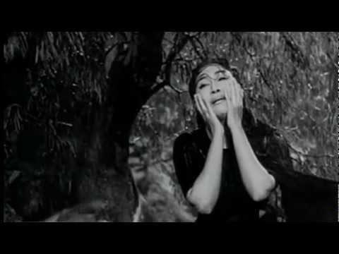 Lata Mangeshkar - Woh Dekho Jala Ghar Kisika  (Anpadh 1962)