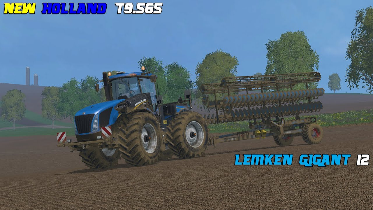 Farming Simulator 2013 New Holland Farming Simulator 2015 New