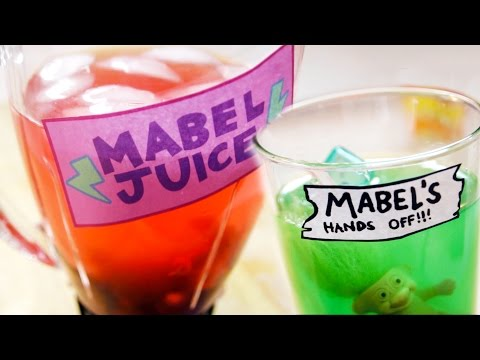 How to Make MABEL JUICE from Gravity Falls Feast of Fiction S4 Ep09