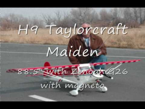 Hangar 9 Taylorcraft Maiden.wmv