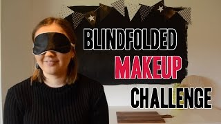 Blindfolded Makeup Challenge | Paula