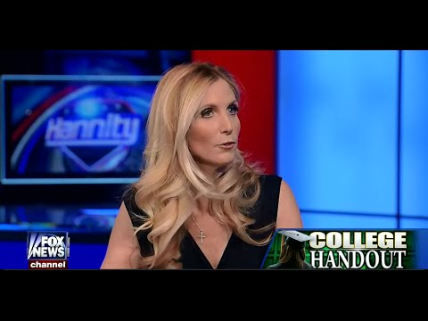 • Ann Coulter • Obama's Free College Tuition Handout • Hannity • 1/12/15 •