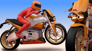 VIDS for KIDS in 3d (HD) - Jimmy the Motorcycle for Children - AApV