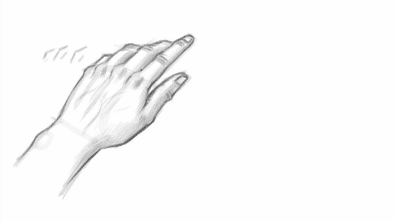 Relaxed Hand Drawing How to Draw The Hand