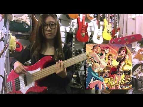 // バンドリ!BanG Dream! // Afterglow - That Is How I Roll // Bass Cover【弾いてみた】
