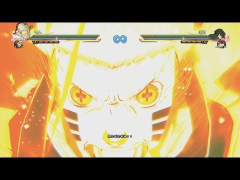 Naruto Ultimate Ninja Storm 4 Road to Boruto - New Hokage Naruto DLC Complete Moveset 1080p