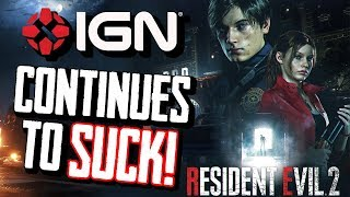 IGN Continues to be an Embarrassment with Resident Evil 2 Review