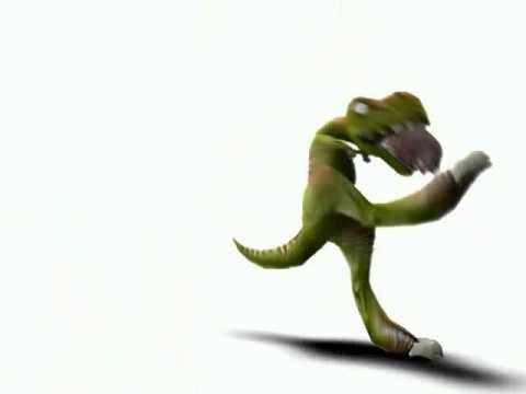 Динозавр и свинья 2.flv
