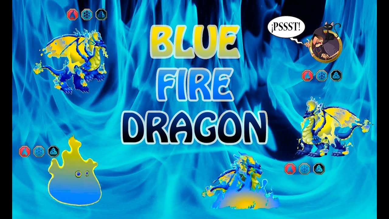 Blue Fire Dragon Dragon City Blue Fire Dragon