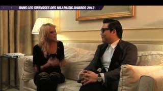 Psy Gangnam style Long interview  Val Kahl  NRJ Music Awards Cannes