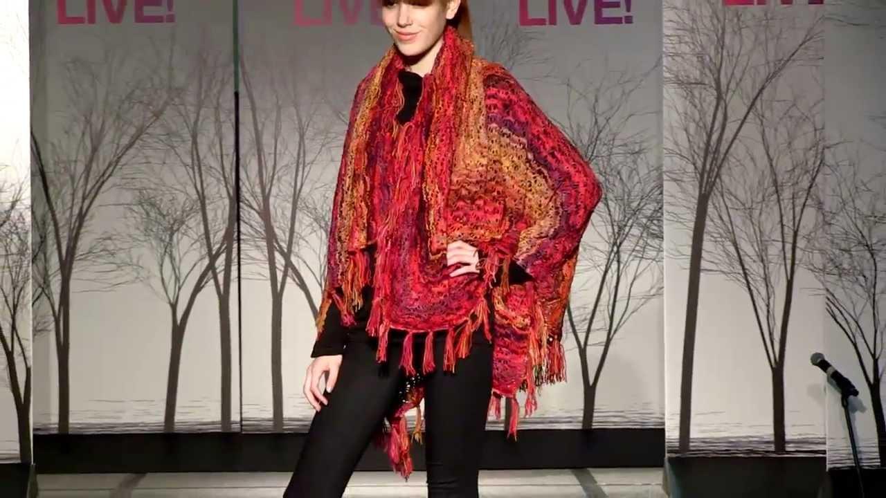 Vogue Knitting Live Nyc : Vogue Knitting Live New York 2012 - Koigu Fashion Show - YouTube
