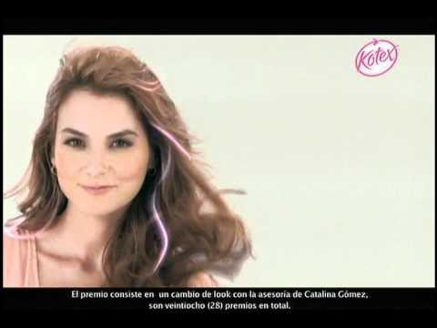 Cambia Tu Look con Kotex y Catalina Gomez