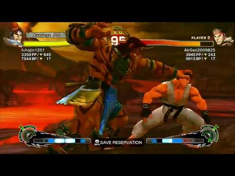T.Hawk(fuhajin1201) VS Ryu(Air)