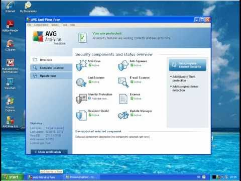 AVG Antivirus Free Edition vs. Avira AntiVir Personal (Part 1)