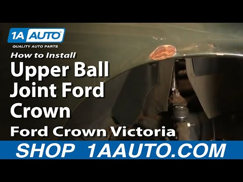 How To Install Replace Upper Ball Joint Ford Crown Victoria 95-02 1AAuto.com