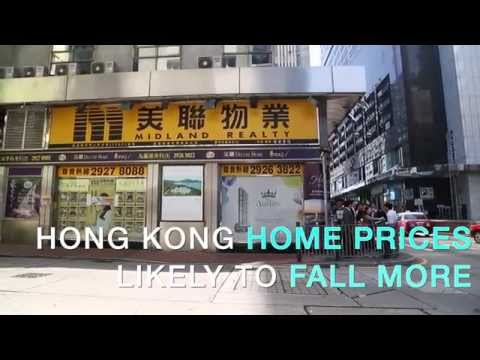 Hong Kong home prices are going down
