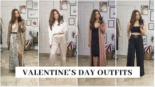 5 Valentine's Day / Date Night Outfits | Valentine's Day Lookbook