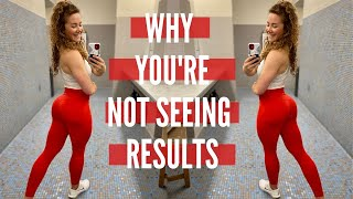 WHY YOU AREN'T PROGRESSING// Glutes & Quads workout