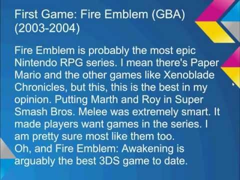 My Top 10 Nintendo Franchises!