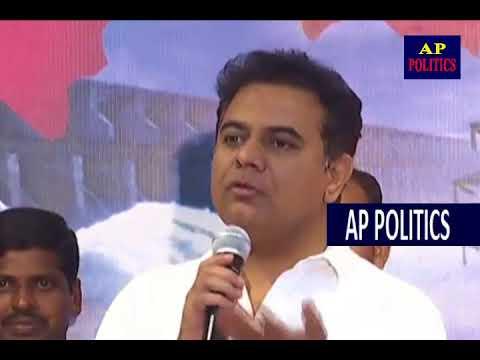 Minister KTR Funny Story on Uttam Kumar Reddy   AP Politics