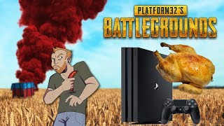 My first SOLO Chicken Dinner in PUBG PS4 Gameplay - No commentary