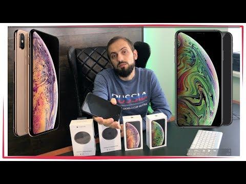 Распаковка iPhone XS Max 512 ГБ «серый космос» сравнение и первые впечатления
