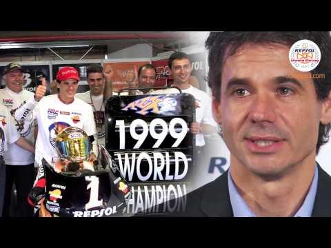 Veinte años del equipo Repsol Honda. Historia del motociclismo.