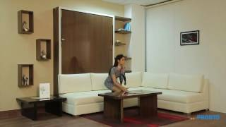 Amazing space saving furniture India for modern small apartment wall bed filding