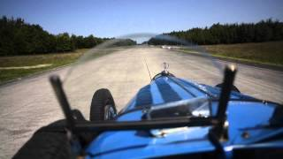 Bugatti Type 35 - First Person View on Track