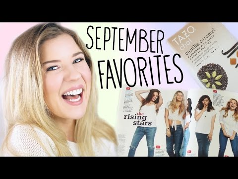 September Favorites: Tea, Books, Beauty & SNAPCHAT?