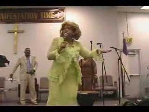 Evangelist Rita Womack Ministies COGIC Pt. I Video