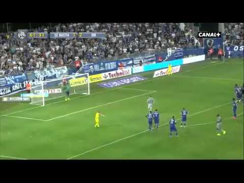 SC Bastia 3 - 3 Olympique De Marseille Ligue 1 09/08/2014