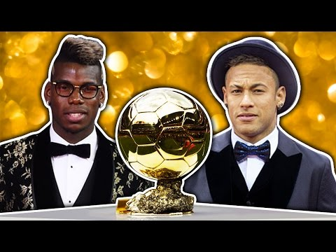 Top 10 Future Ballon D'or Winners | Neymar, Pogba & Dybala!