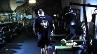 UFC® 102 Randy Couture Training to be the Hometown Hero
