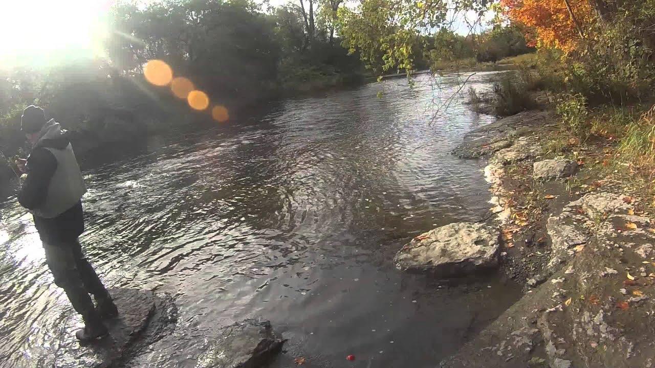 Salmon fishing pulaski ny earl x 2 youtube for Pulaski salmon fishing
