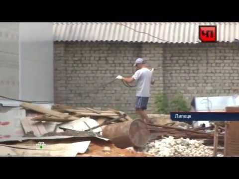 Житель Липецка снял на видео собственную смерть