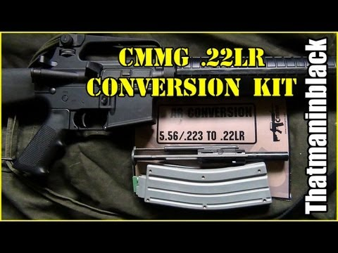 How to install AR-15 CMMG .22lr Conversion Kit