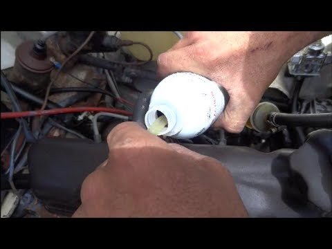 Seafoam Engine Treatment Sea Foam Motor Cleaner Test Injection Injector Treatment DIY Video