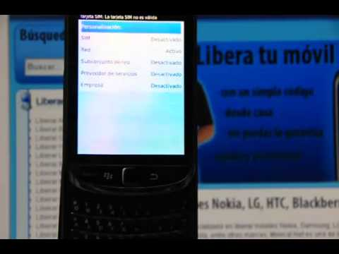 Liberar BlackBerry 9800 Torch. desbloquear BlackBerry 9800 Torch de Movistar    Movical Net