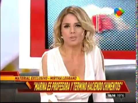 Marina Calabró, furiosa con Mirtha Legrand