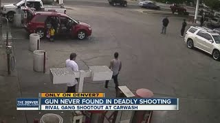 Gang member sentenced for car wash shooting caught on video