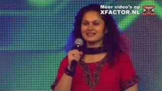 X FACTOR 2011 - auditie Aparna