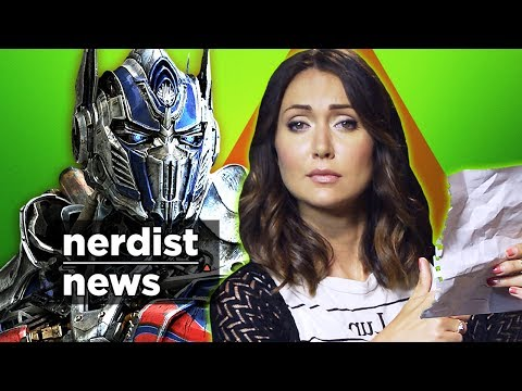 An Open Letter to Michael Bay. TRANSFORMERS: Age of Extinction (Nerdist News w/ Jessica Chobot)